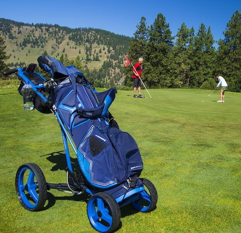 Sun Mountain S Newest Push Cart Pathfinder 4 Is The New Generation Of Our Micro Cart It Folds In Two Simple Step Golf Bags Golf Cart Accessories Golf Shop