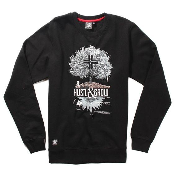LRG Crewneck Hustle & Grow  #fashion #style #styling #sweater  #sweatshirts #lrg #grow #nature http://www.rudestylz.de/lrg-hustle-grow-crewneck.htm