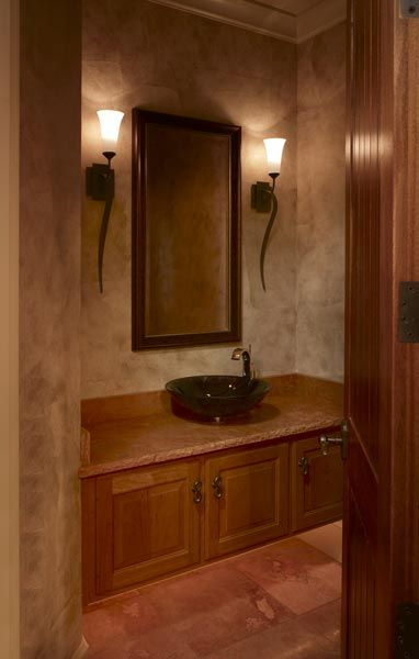 Love the look of faux painted walls such a warm inviting look house interior ideas for Faux painting ideas for bathroom