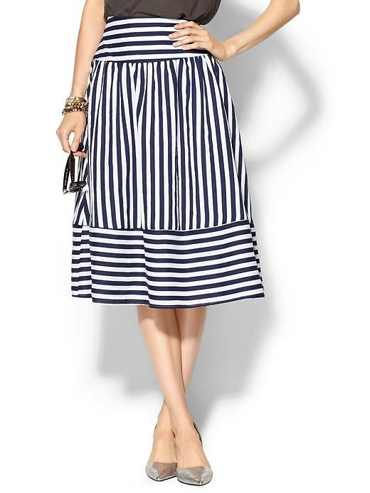 navy stripes skirts and stripes on