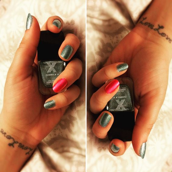Formula X Nail Color in Athena and Lucky Starrr @lovelovemcole