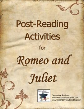 Please Proofread my paper. Romeo and Juliet?