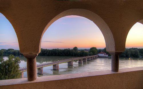 Alte Innbrücke von Schlosspark Schärding