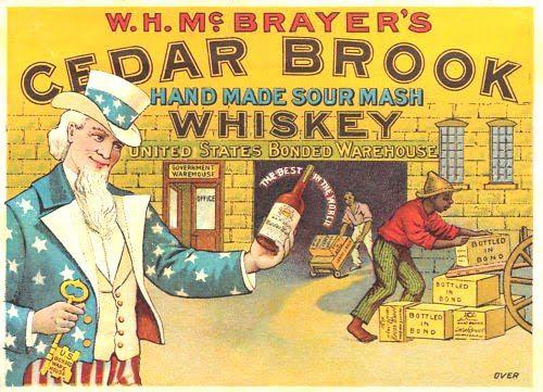 Cedar Brook Sour Mash Whiskey W.H. McBrayer's