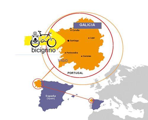 alquiler bicicletas en Galicia