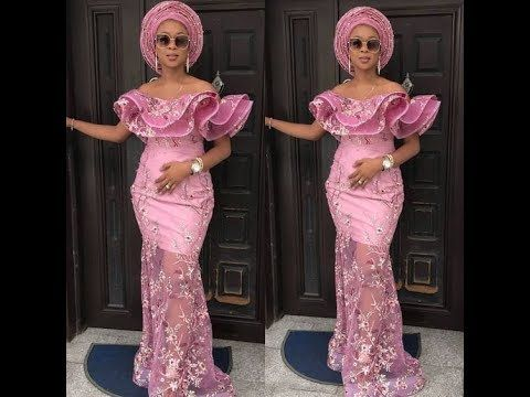 2018 Cord Lace Asoebi Styles Creative Collection Of African