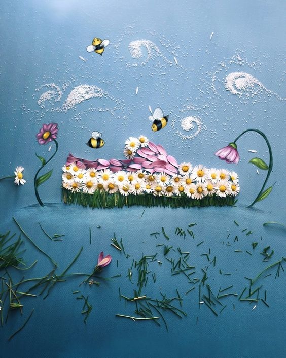 Arte con flores Be783d98dd790b54cd01346a0d597c8f