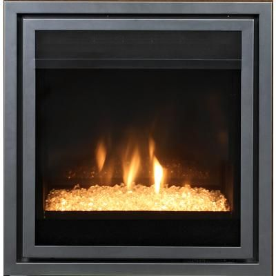 Paramount 28 Inch Fireplace Insert With Crystal Embers Ef A3 C Home Depot Canada Basement