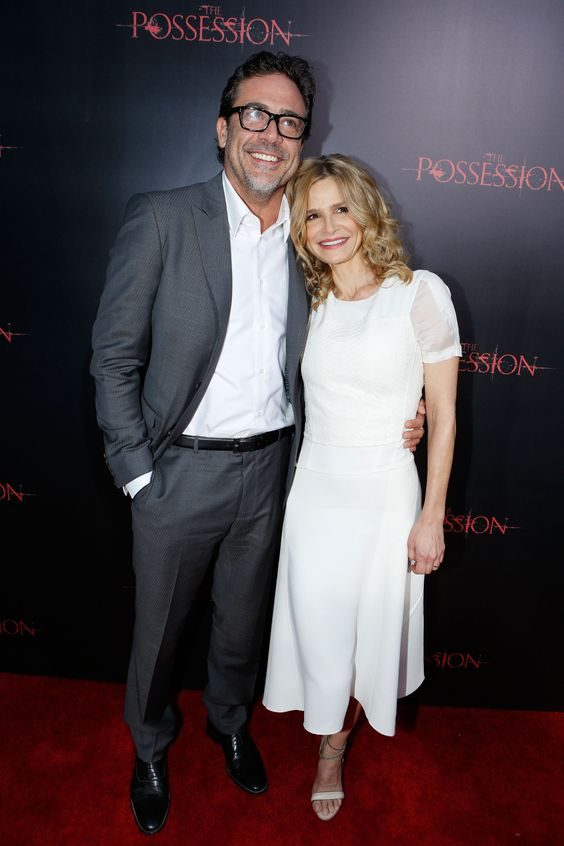 Jeffrey Dean Morgan and Kyra Sedgwick pose for a movie ...