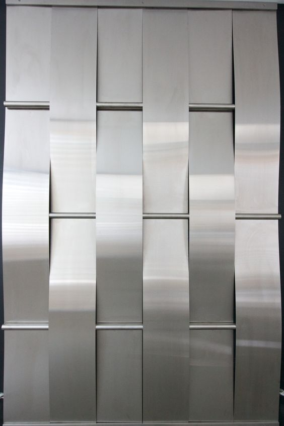 Woven Stainless Steel Wall                                                                                                                                                      More