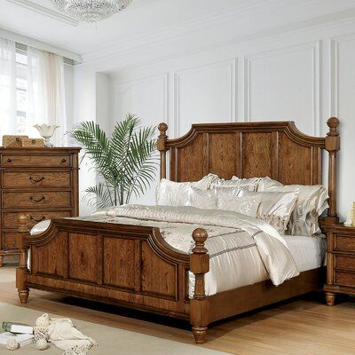 Astoria Grand Osvaldo Standard Bed Size California King Wood Bedroom Sets Furniture Wood Bed Design