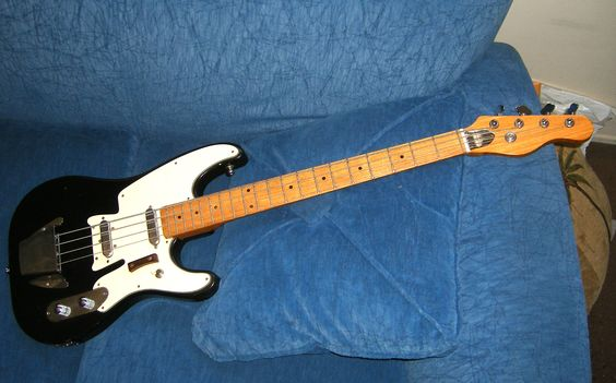 Vintage bass Fender telecaster bass styled copy MIJ made in Japan $350  J -> Table Bass Télé