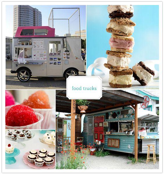 food truck wedding snacks