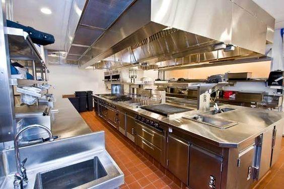 Jacobs Doland Beer A New York City Based Foodservice Design Firm Developed This Restaura Restaurant Kitchen Design Hotel Kitchen Kitchen Layout