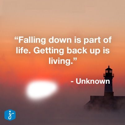 Life Up And Down Quotes I Look Forward To Getting Knocked Down