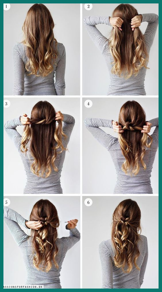 Easy Updos Lazy Day Hairstyles Lazy Hairstyles Hair Styles