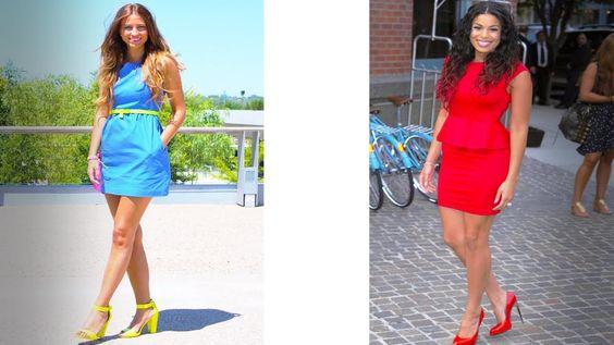 Moda 2015 | Vestidos con Tacones