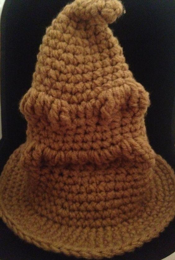 Sorting Hat Harry Potter Crochet And Sorting On Pinterest