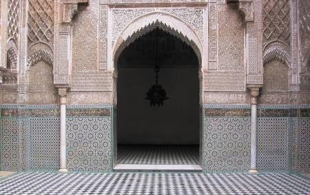 Fez Geometric Wall Design