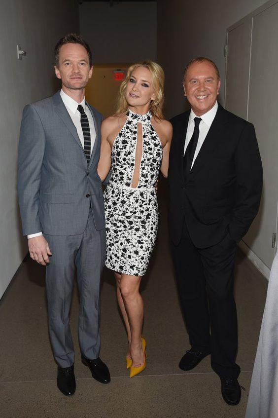 Pin for Later: Diane Kruger und Toni Garrn stahlen den Stars in New York das Rampenlicht Neil Patrick Harris, Kate Hudson und Michael Kors