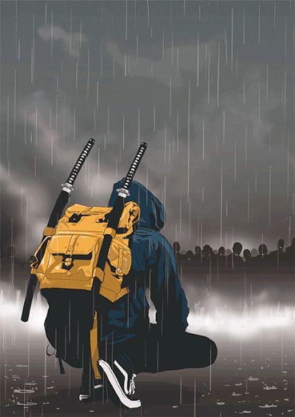 Urban Samurai - EliteGIF                                                                                                                                                      Más