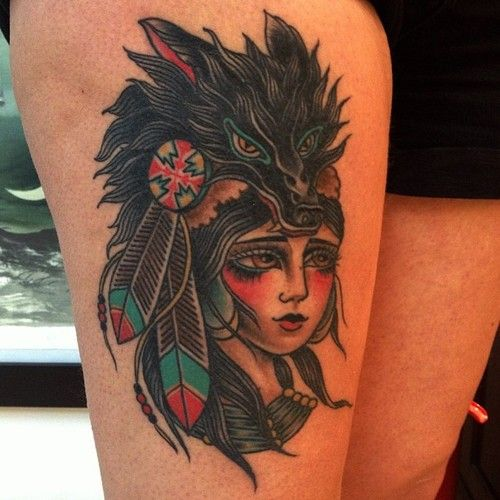 Jaclyn Rehe: Old School Tattoos, Indian Girls And Indian On Pinterest