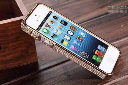 iPhone5s対応 アイフォン5s iphone5s/5/4/4s メタルカバーケース