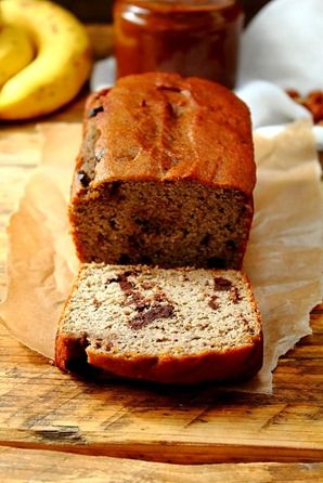 Almond Butter Coconut Flour Banana Bread and Cleantella