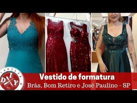 Vestido Formatura Bras Bom Retiro Jose Paulino Barato