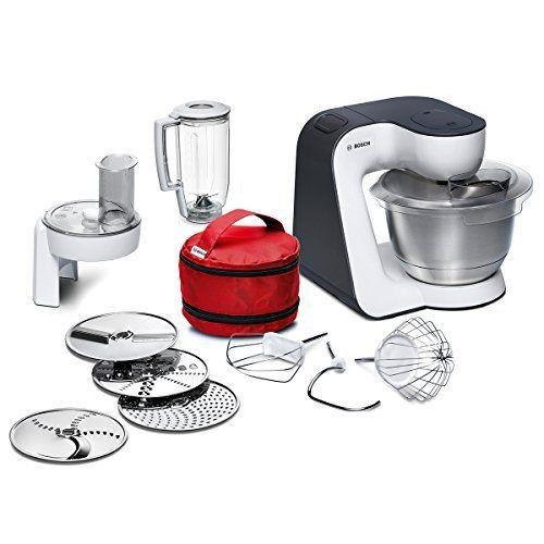 Offerta Di Oggi Bosch Mum50e32de Kuchenmaschine Startline 800 W 3 9 L Edelstahl Ruhrschussel Umfangreiches Zu Food Processor Recipes Functional Food Bosch