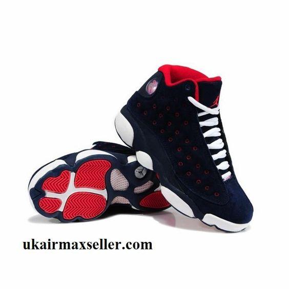 Nike Air Jordan Shoes | Buying Nike Air Jordan XIII 13 Retro 2014 Womens Black Red Sport Shoes ...