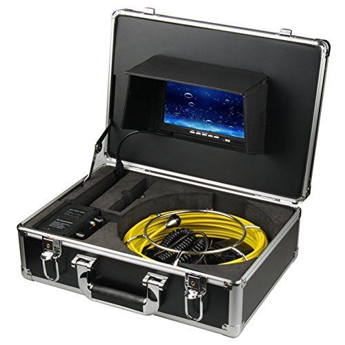 "Ennio 20m Sewer Waterproof Camera Pipe Pipeline Drain Inspection System 7""lcd DVR ** More info could be found at the image url."