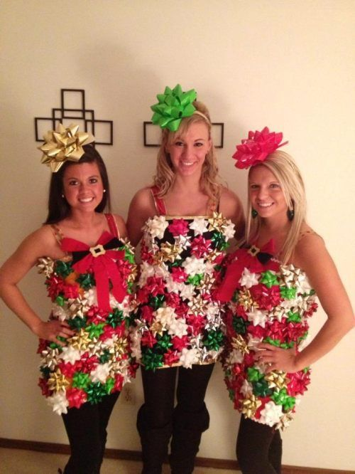 Christmas Costume Party Ideas Part - 17: A Change From The Ugly Christmas Sweater Look? I Think So! | Christmas |  Pinterest | Christmas Party Outfits, Party Outfits And Ugliest Christmas  Sweaters
