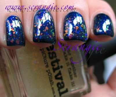 Picture Polish - Festival over Electric Blue