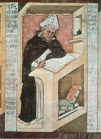 Tommaso da Modena - Albertus Magnus / Tommaso da Modena