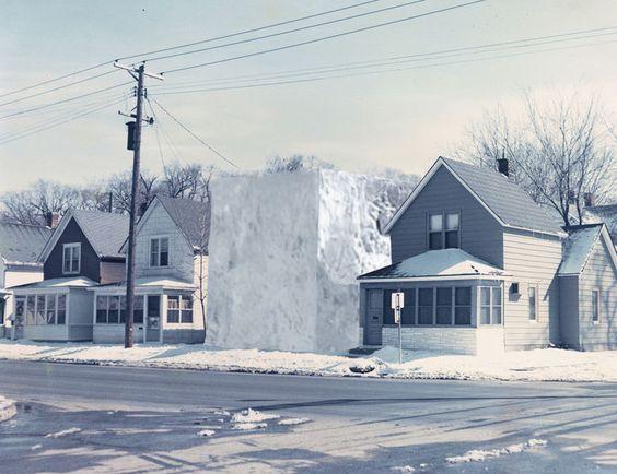 Ice House II, Gianni Pettena, Minneapolis, 1972.