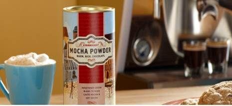 Caffé Mocha at home. Yes, Mocha Powder is back!
