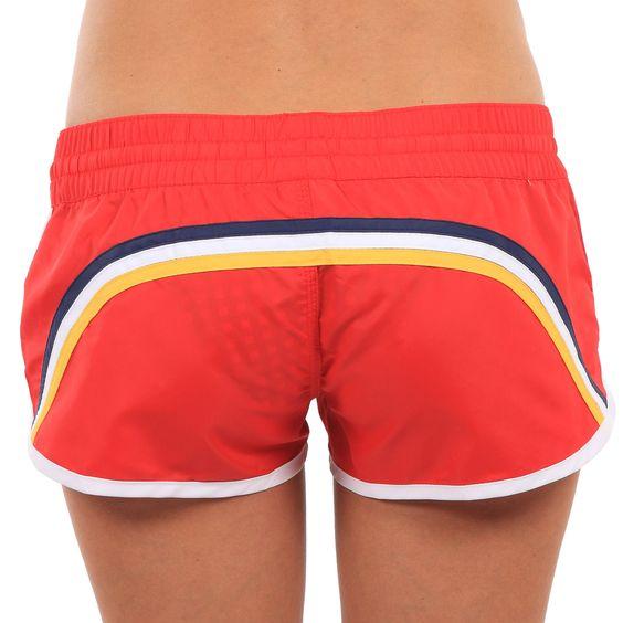 swim shorts with rainbow band from sundek $79