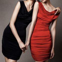 $12.40 Elegance Style Slimming Cowl Neck Elastic Modal Sleeveless Dress For Women