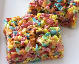 Fruity Pebble Squares