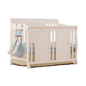 Stork Craft Verona 4-in-1 Fixed Side Convertible Crib $270