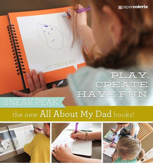 "Paper Coterie's ""All About My Dad"""