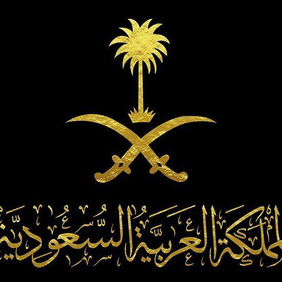 Kingdom Of Saudi Arabia Emblem شعار المملكة العربية السعوديه Gold Black Ancient Egypt Art Egypt Art Flower Background Wallpaper