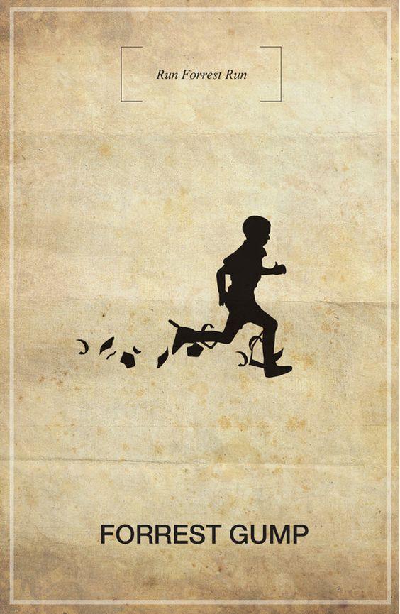 """""""Je courrais toujours pour aller partout, mais je ne pensais pas pour autant que ça allait me mener quelque part."""" Forrest Gump"""