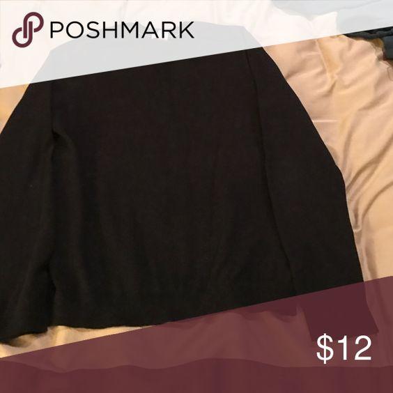 Men's GAP sweater 95% cotton 5% cashmere men's black sweater excellent condition GAP Sweaters Crewneck