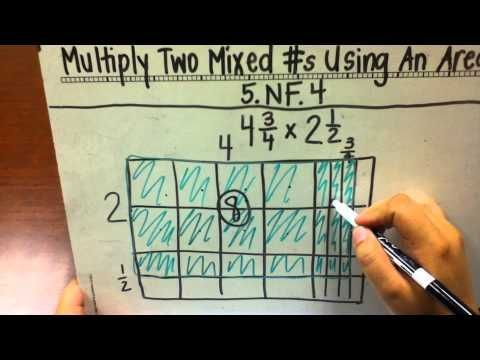 multiply mixed numbers using area models | Fifth Grade | Pinterest ...