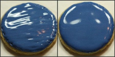 """Royal icing on cookies TIPs to make that """"perfect"""" smooth frosting"""