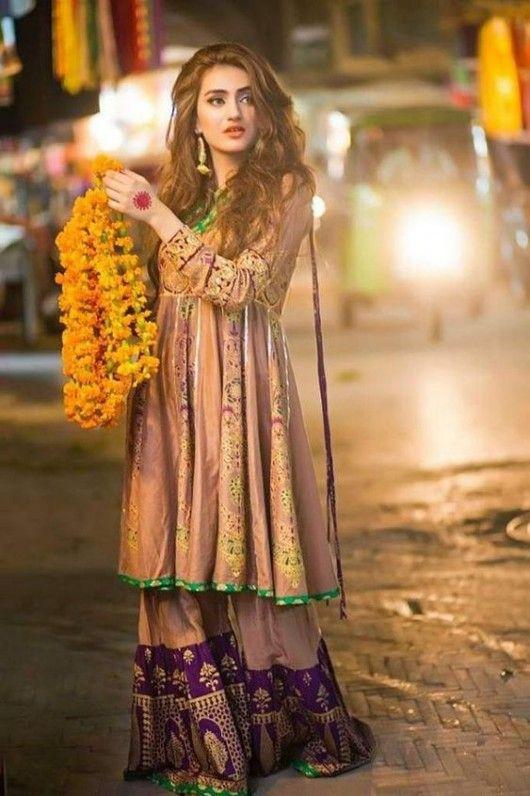 Latest Pakistani Bridal Wedding Dresses 2018 Collection Styleglow