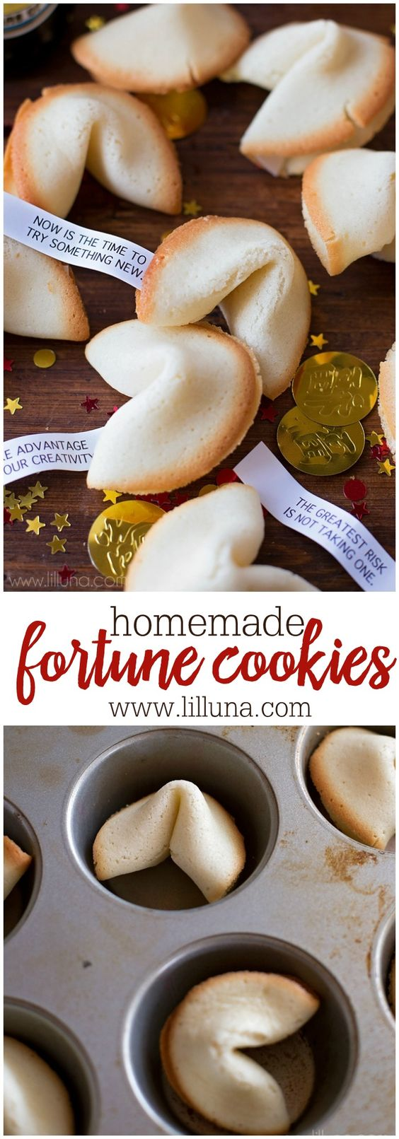DELICIOUS Homemade Fortune Cookies - the kids love this recipe!