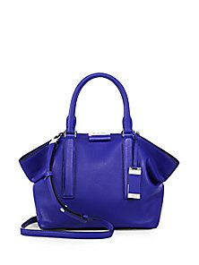 Michael Kors Collection - Lexi Small Leather Satchel